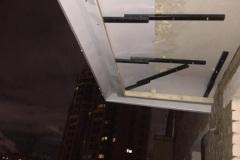 Крыши и навесы на балконе